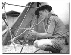 at the 1937 1st National Boy Scout Jamboree!