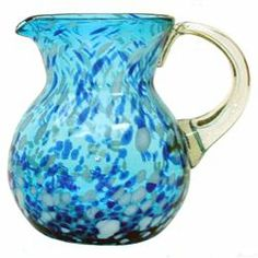 Monterey Pitcher (421160070), Recycled Glasses & Drinking Glasses| Colored Glassware – Pitchers and Decanters. bambeco.com.