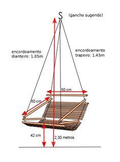 Cadeira de bambu com futon | Ecoisas - orgânicos saudáveis e sustentáveis