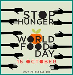 October 16-World Food Day #WFD2013