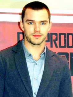 Nicholas Hoult promoting Warm Bodies in Rome