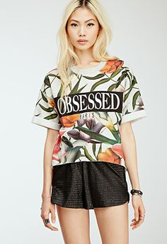 Obsessed Floral Sweatshirt | Forever 21 - 2000115649