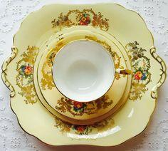 Exquisite Vintage Aynsley English Fine Bone China by CTilstonandCo