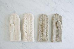 Ancient Stitch Mittens   Purl Soho