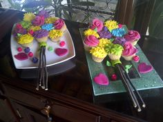 Mothers Day Cupcakes made by me !!!!