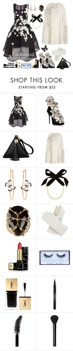 Uneven Hems & Autumn Parties by celeste-menezes on Polyvore featuring Jovani, By Walid, Giuseppe Zanotti, Christina Debs, Lulu Frost, Rosantica, Isotoner, NARS Cosmetics, Trish McEvoy and Guerlain