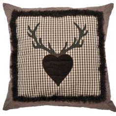 kissenbezug hirsch kissenbez ge hirsche und dawanda. Black Bedroom Furniture Sets. Home Design Ideas