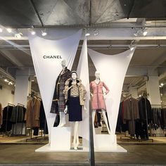 "JOHN JEFFREY,NYC, ""We're experiencing an extremely strong headwind..."", (CHANEL), display by John Galang, pinned by Ton van der Veer"