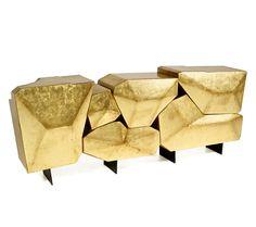 bateye presents its latest creation erstaunlich konsolen art furniture blattgold mobel schrankmobel
