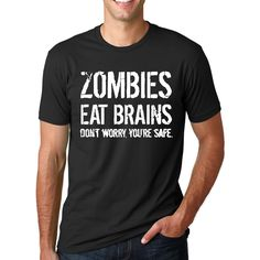 Check our new product [product-title here: http://infinite-clothing.com/products/zombies-eat-brains-dont-worry-you-are-safe?utm_campaign=social_autopilot&utm_source=pin&utm_medium=pin  #clothing #infinite #clothes #fashion #apparel #funny #amazing