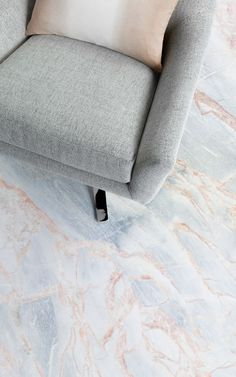 Bronze is Cracked Coloured Marble Vinyl Flooring that brings you timeless marble design in a soft, sophisticated bronze and powder blue palette. #vinyl #flooring #inspiration #design #decor #home #homedecor #interior #interiordesign #Ihavethisthingwithfloors