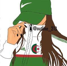 1 2 3 viva l agerie à mettre en fond d'écran de mon tel - Tumblr Drawings, Arabic Funny, Girl Sketch, Sketch Inspiration, Disney Instagram, Black Women Art, Thug Life, Face Art, Jelsa