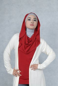 Looks so comfortable!!! I love the hijab style.