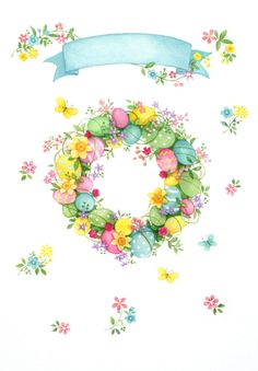 Lisa Alderson - LA - Easter Wreath AW