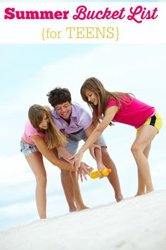 Summer Bucket List for Teens - activities, crafts, and other fun ideas to make this the best summer yet!