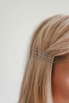 Hair Tutorial // Bobby Pin Inspo — Treasures & Travels
