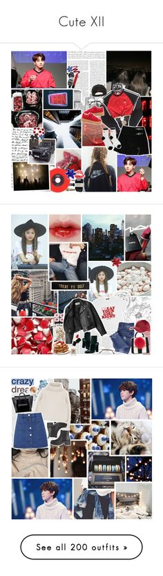 """""""Cute XII"""" by park-ji-eun ❤ liked on Polyvore featuring adidas, Tom Ford, Ralph Lauren, Limedrop, NYX, Aesop, Cassia, Fall, kpop and bts"""