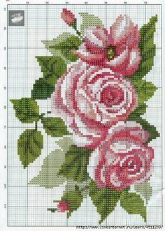 Bardzo dobryFantastyczny Najlepsze obrazy na tablicy haft krzyżykowy kwiaty (279) w 2019 IW64