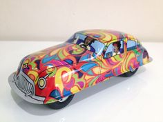 Grovvy Car-RM55 | The Tinmen-online vintage tin toy store