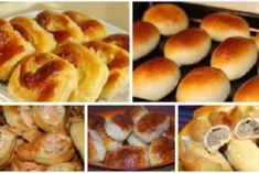 Топ-5 простых рецептов пирожков, как у бабушки! European Cuisine, Mozzarella, Muffins, Bread, Food And Drink, Cookies, Baking, Breakfast, Recipes