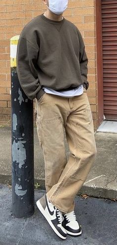 Street Style Outfits Men, Stylish Mens Outfits, Cute Casual Outfits, Outfits For Boys, Trendy Mens Fashion, Fashion Fashion, Spring Fashion, Fashion Ideas, Tomboy Fashion