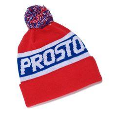 Czapka Zimowa PANEL RED Damska ciepła zimowa czapka, posiada pompon i wywijany panel. Beanie, Hats, Red, Fashion, Moda, Hat, Fashion Styles, Beanies, Fashion Illustrations