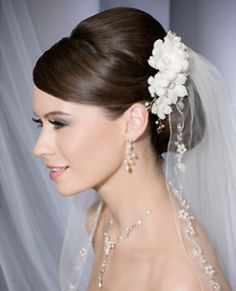 Bel Aire Bridal Veils - Style V7061 Shown with clip style 6136