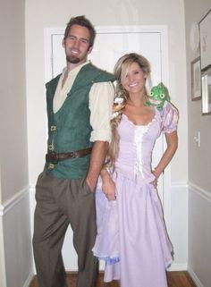 30 Last-Minute COUPLE Halloween Costume Ideas! DIY Costumes! Here are some bonus  sc 1 st  Pinterest & Peter Pan u0026 Wendy Darling halloween couple costume Ig: @leahharrison ...