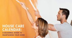 House care calendar to maintain your home year round. Be careful, homeowners: neglecting your home's maintenance could put your personal safety—and one of your largest financial investments—at serious risk. Boca Raton Real Estate, Houston Real Estate, Care Calendar, Window Unit, Personal Safety, Protecting Your Home, Home Repairs, Heating Systems, Spring Cleaning