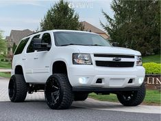 Lifted Chevy Tahoe, 2007 Chevrolet Tahoe, Lifted Chevy Trucks, Classic Chevy Trucks, Chevrolet Camaro, 2010 Tahoe, Tahoe Lt, Rough Country Suspension, Custom Pickup Trucks
