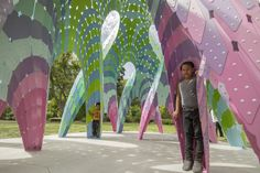 """Gallery of Marc Fornes / THEVERYMANY Constructs Self-Supported """"Vaulted Willow"""" with Ultra-Thin Aluminum Shells - 8"""