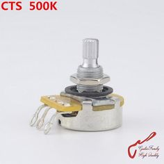 [Visit to Buy] 1 Piece CTS A500K/L500K (B500K)  Big  Potentiometer(POT) For Electric Guitar (Bass) #Advertisement