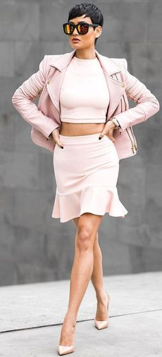 Everything Pink Outfit by Micah Gianneli