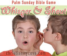 """This version of """"Whisper Down the Lane"""" will not only help students remember important facts about Easter Week, but it will also provide a great lesson about when to stay quiet and when to shout the truth from the rooftops."""