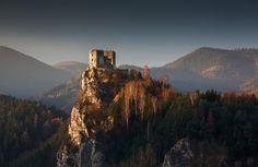 outdoormagic: Château Strecno (Sunrise) par Palino Balaj