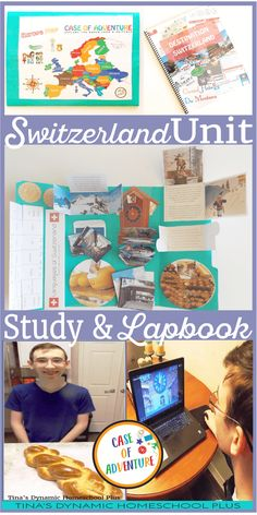 Switzerland Homeschool History Unit Study (and Lapbook). Want to explore the beautiful country of Switzerland with a homeschool unit study & hands-on ideas? Geography Activities, Teaching Geography, Geography Lessons, World Geography, Geography For Kids, Thematic Units, Unit Studies, School Fun, Study Ideas