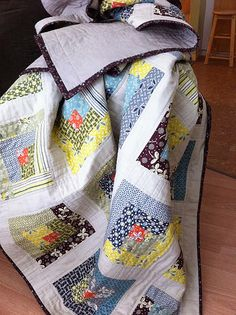 Hope Valley Log Cabin Quilt