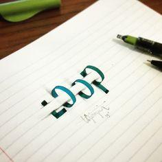 """""""Loop"""" by @tolgagirgin99  #Goodtype #StrengthInLetters #3Dtype"""
