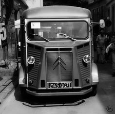 Citroën G, H & HY Van - also the inspiration for Darth Wader's mask