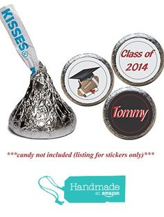 Gymnastics Birthday Stickers for the Bottom of Chocolate Kisses RGym Set of 108