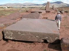 Multi - ton slab of rock, Pumapunku I WANT TO KNOW WHO AND WHEN IT WAS BUILT