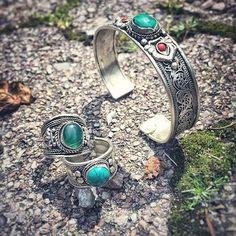 "ohmboho: "" Beautiful pic from happy customer @electriix of her Ohm Boho jewels ॐ www.ohmboho.com ॐ #ohmboho #jewellery #jewelry #jewels #tibetan #turquoise #happycustomer #boho #bohemian #bohochic..."