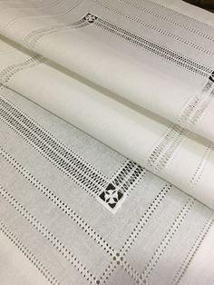 Hem Stitch, Using Chalk Paint, Drawn Thread, Cut Work, Hand Embroidery Stitches, Chalk Paint Furniture, Silk Ribbon, Writing A Book, Knitting