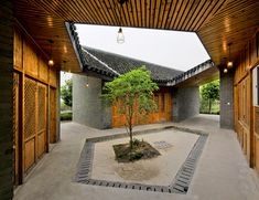 community pavilion at jintao village by scenic architecture, china
