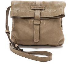 Frye Artisan Fold Over Bag - Bone (1085 QAR) ❤ liked on Polyvore featuring bags, handbags, shoulder bags, purses, leather man bags, leather handbags, handbags shoulder bags, frye handbags and shoulder handbags