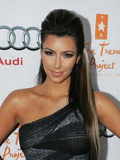 Celebrity Lookbooks: Kim Kardashian at Trevor Projects Event, LA