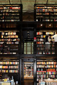 One of these days, I will take a trip to visit all of these great houses of books!  Selexyz Dominicanen, Maastricht
