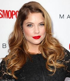 Poster critic: Ashley Benson, shown last month in New York City, turned to Twitter on Wednesday to criticise an air-brushed poster for her h...