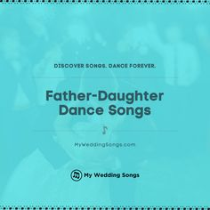 What is your favorite song for the father-daughter dance? It is a special moment for any bride and her dad. ⠀ . You can read our list of the top father-daughter dance songs on our website. .  #fatherdaughter #daddydaughter Mother Son Dance Songs, Father Daughter Dance Songs, Wedding Love Songs, Wedding Song List, Avril Lavigne, Smokey Robinson Songs, Carpenters Songs, Processional Songs, Reo Speedwagon