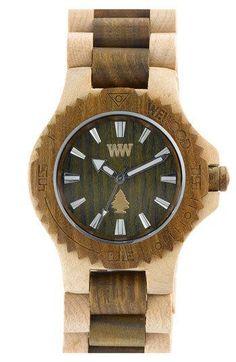 WeWOOD 'Date' Two Tone Bracelet Watch